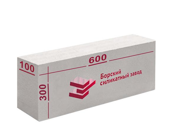 Газосиликатные блоки Бор 600х300x100