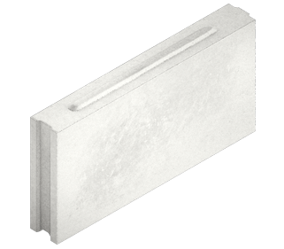 Пазогребневая перегородка 500x250x70 силикатная