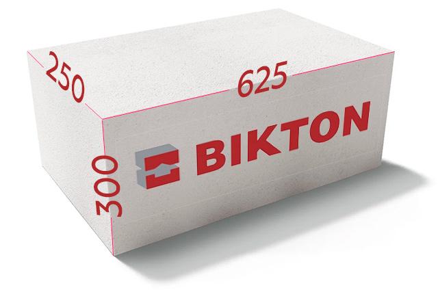 Блоки Биктон 625х250x300